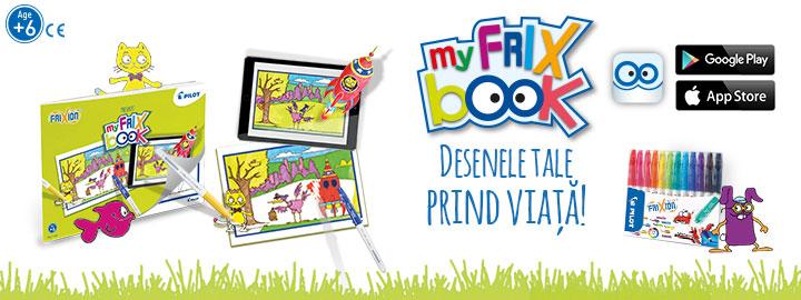 Pilot My FriX Book Carioci FriXion Colors
