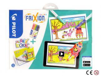 FriXion Colors - Set My FriX Book x 6 - Culori Asortate - Vârf Mediu