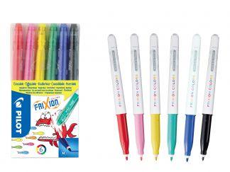 FriXion Colors - Set de 6 - Culori Asortate - Vârf Mediu