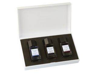 Cerneală Iroshizuku Mini - Set de 3 - Culori Asortate - 15 ml